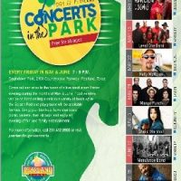 Pearland Concerts in the Park (Fridays in Southdown Park) UPDATED