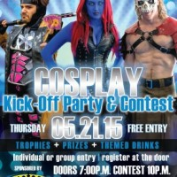 Comicpalooza 2015 Cosplay Kick-Off Party & Contest