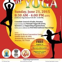 First Annual International Day of Yoga
