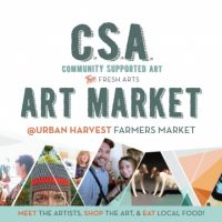 Community Supported Art Market at Urban Harvest