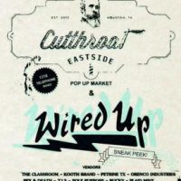Cutthroat Eastide Pop-Up Market/Wired Up Records and Books Sneak Peek