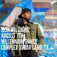 Hip Hop Masterclass with Josh Williams