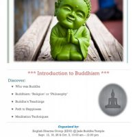 Introduction to Buddhism (Saturdays)
