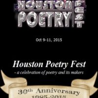 Houston Poetry Fest 2015 (HPF 30th Anniversary)