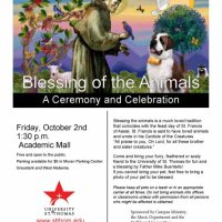 Blessing the Animals (at UST)