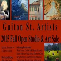Guiton St. Artists 2015 Fall Open Studio & Art Sale