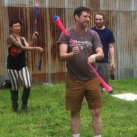 Beginning Flow Arts - Learn to Hoop & Spin Poi (Saturdays)