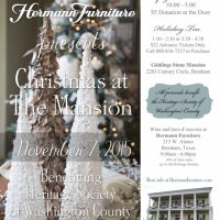 Christmas at the Mansion (Holiday Home Tour & Trunk Show)