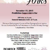 Houston Corks & Forks (hosted by Prohibition Supperclub & Bar to Benefit The American Cancer Society)