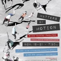 RDT Fall 2015 Concert: Matters of Motion