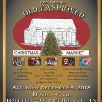 Old Fashioned Christmas Market