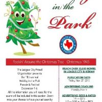 League City 18th Annual 'Holiday in the Park' Parades & Festival - Rockin Around the Christmas Tree - Christmas 1945