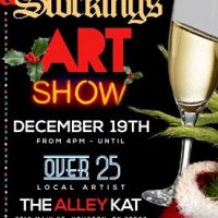 Champagne & Stockings Art Show