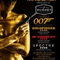 James Bond New Years Eve Theme Party (New Year's Eve 2016 at Hughes Hangar)