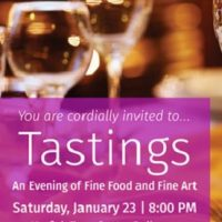 Tastings: An Evening of Fine Food and Fine Art
