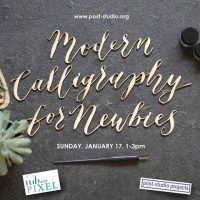 Modern Calligraphy for Newbies Workshop