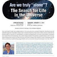 Space Frontiers Lecture Series - Are we truly 'alone'? The Search for Life in the Universe
