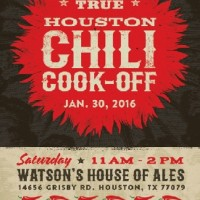 2016 Houston Chili Cook-Off