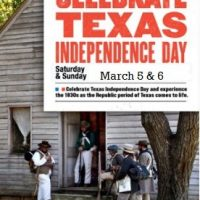 180th Anniversary of Texas Independence: Texas Independence Day Celebration