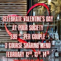 Celebrate Valentine's Day at Pour Society