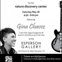 Gina Chavez Concert (benefiting Nature Discovery Center)