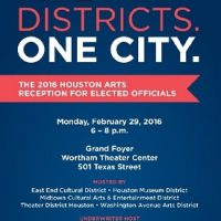 The 2016 Houston Arts Reception for Elected Officials