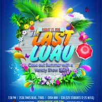 The Last Luau: Close Out Summer with a Variety Show Bash