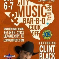 The League City Music Festival & BBQ Cook-off