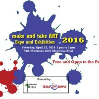 2nd Annual Make and Take Art Expo and Exhibition