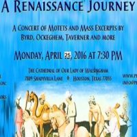 The Piping Rock Singers: Travels and Travails: A Renaissance Journey NEW DATE
