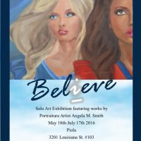 Angela M. Smith: Believe - Solo Art Exhibit (and Opening Reception)