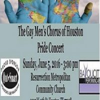 The Gay Men's Chorus of Houston Pride Concert: Turn the World Around