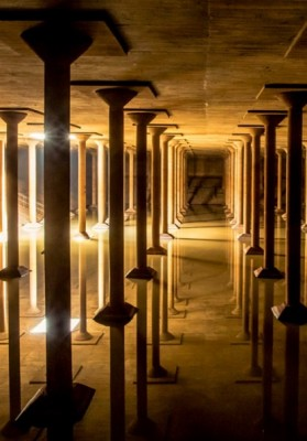 Visit the Buffalo Bayou Park Cistern