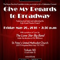 Give My Regards to Broadway (Fundraising Concert)