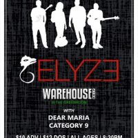 Elyze, Dear Maria and Category 9 (in the Greenroom)