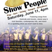 Show People: Houston Choral Showcase 2016 Spring Show