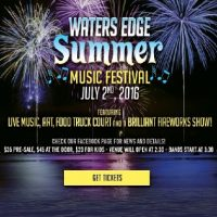 Waters Edge Summer Music Festival