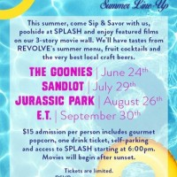 Float & Flick at Hotel Derek: Jurassic Park