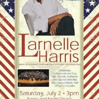 Larnelle Harris in Houston: A Celebration of Faith, Family & Freedom