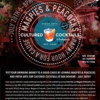 Cultured Cocktails (benefiting Magpies & Peacocks)