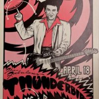 'Texas Me' – An exhibit of Classic Music Posters from Austin, Texas as collected by Tony Davidson