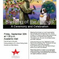 Blessing of the Animals (at UST)