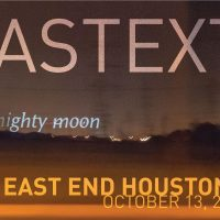 Eastext: Transforming The East End Into A Moving Canvas For Poetry Projections (at galleryHOMELAND Houston)