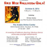 22nd Annual Red Hot Ballroom!