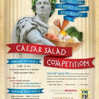 32nd Annual Caesar Salad Competition