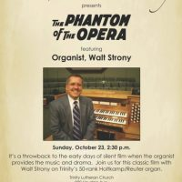 The Phantom of the Opera Silent Film with Live Organ Accompaniment
