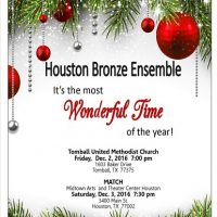 It's The Most Wonderful Time Of The Year (at Tomball United Methodist Church)