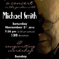 Michael Smith in concert