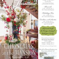 Christmas at the Mansion (Holiday Home Tour & Trunk Show & Children's Party)