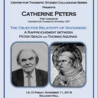 The CTS Colloquium Series: Catherine Peters